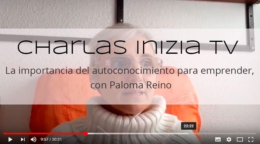 Charlas Inizia TV. Ep.4: Autoconocimiento y masterminds, con Paloma Reino